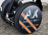 AX-WHEEL-SPINNER Ø 410 mm  incl. imprint