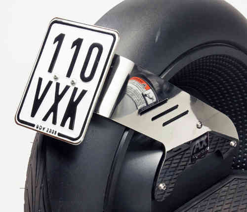 AX-Holder for licenseplate STYLE 3 N