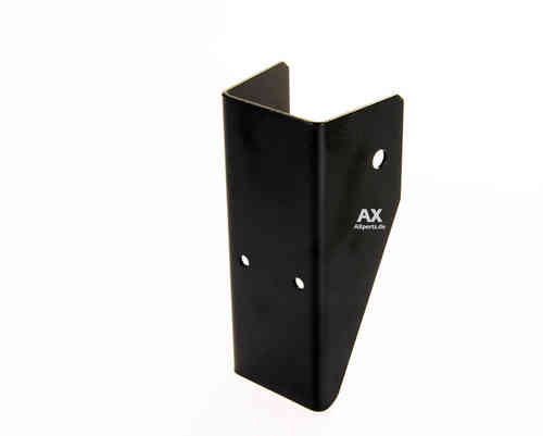 AX-License plate holder X2 front. BLACK